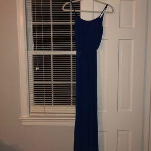 Blue Lush Maxi Dress